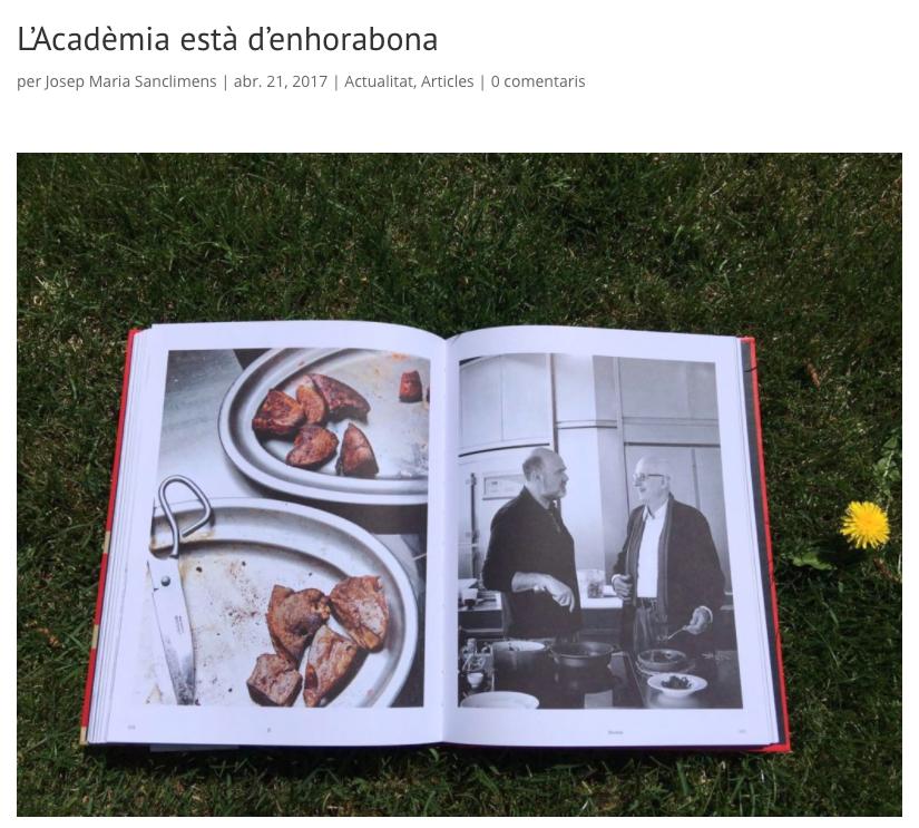 Acadèmia Catalana de Gastronomia